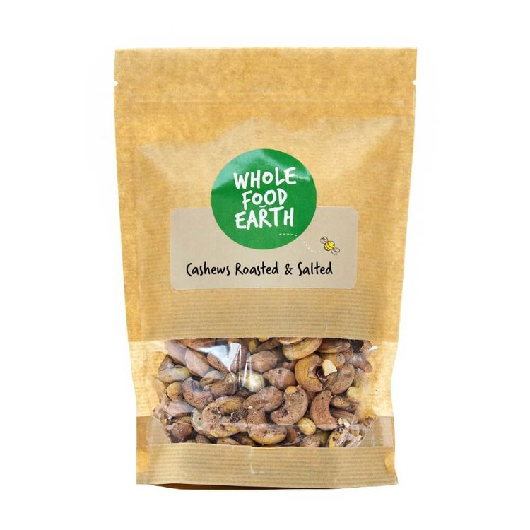 Roasted & Salted Cashews 500g