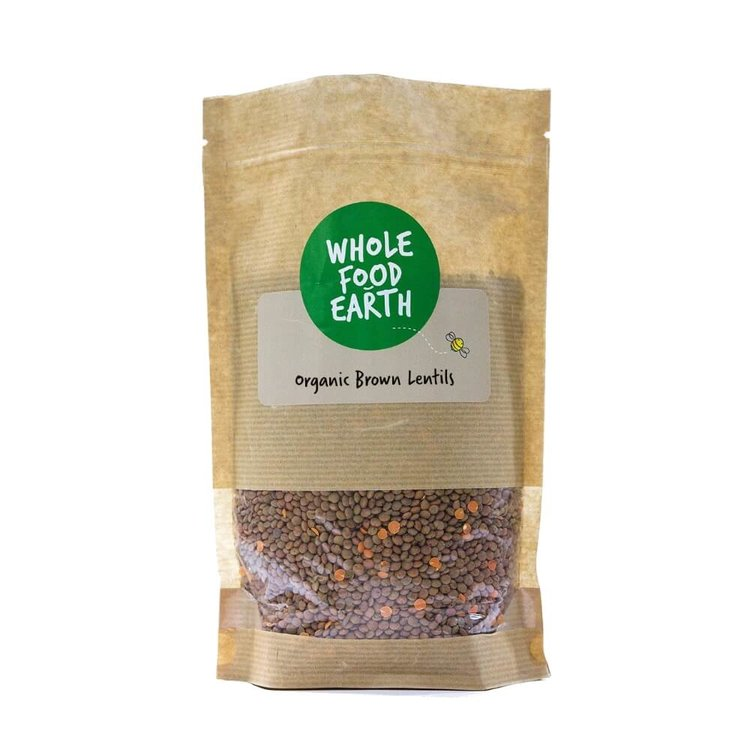 Organic Brown Lentils 1kg
