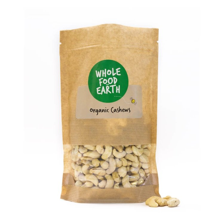 Organic Cashews Whole 500g