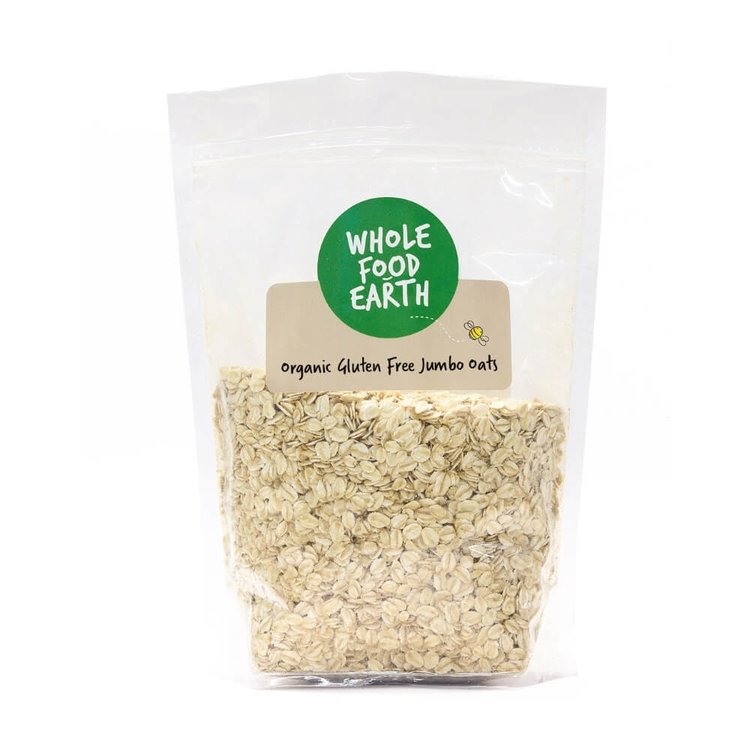 Organic Gluten Free Jumbo Oats 1kg