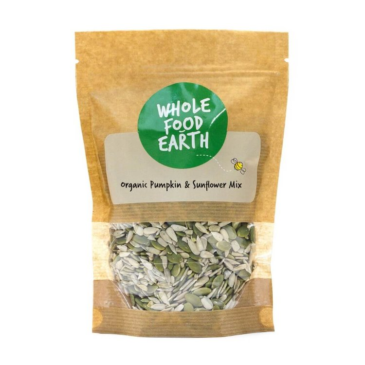 Organic Pumpkin & Sunflower Seed Mix 250g