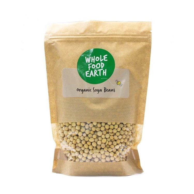 Organic Soya Beans 500g