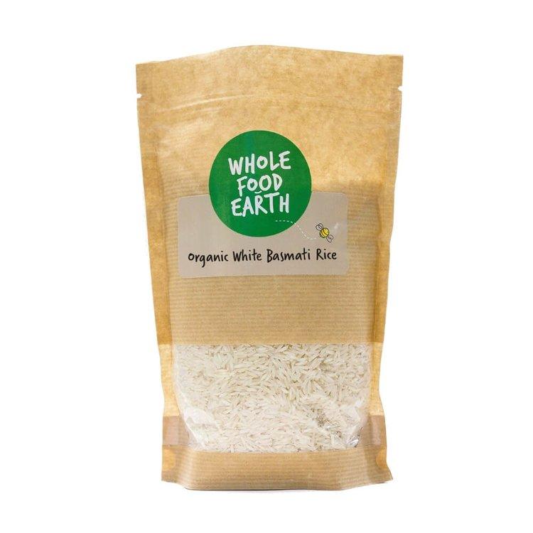Organic White Basmati Rice 1kg