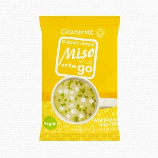 Organic Instant White Miso with Tofu on the Go 8g