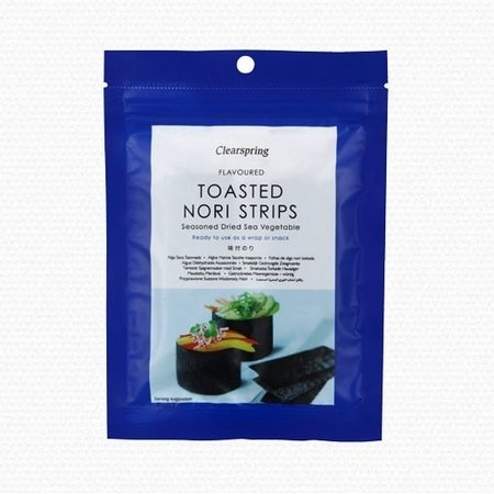 Toasted Nori Seaweed Strips 13.5g