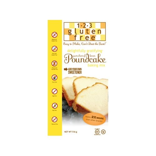 Gluten-Free Poundcake Mix 516g