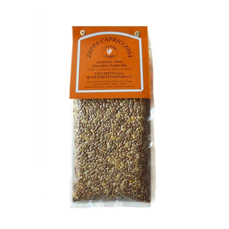 Farro, Lentils, Barley & Cicerchia Soup Mix 2 x 500g