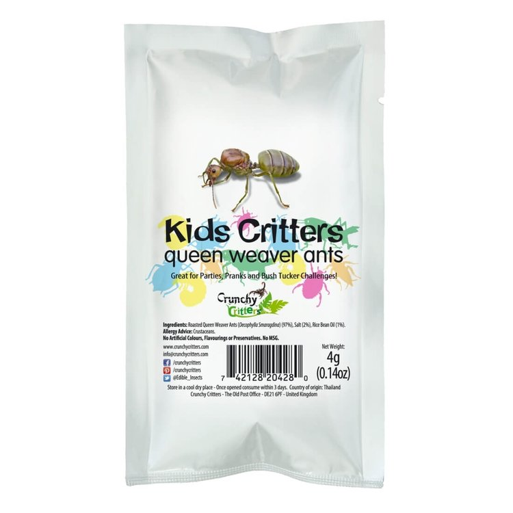 Kids Edible Queen Weaver Ants 4g