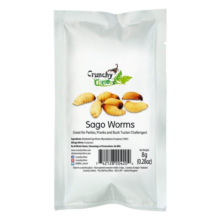 Edible Sago Worms 8g