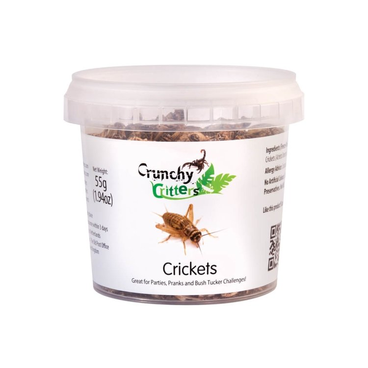 Edible Crickets 55g