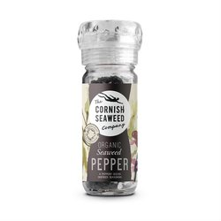 Organic Cornish Seaweed Pepper Grinder 100g