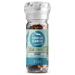 'Zesty' Organic Cornish Seaweed Seasoning Blend For Fish 33g
