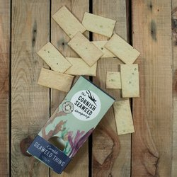 Cornish Seaweed Thins Crackers 120g