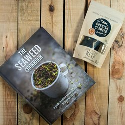 'Budding Chef' Cornish Seaweed Gift Set Inc. Seaweed Recipe Book & Organic Kelp Seaweed