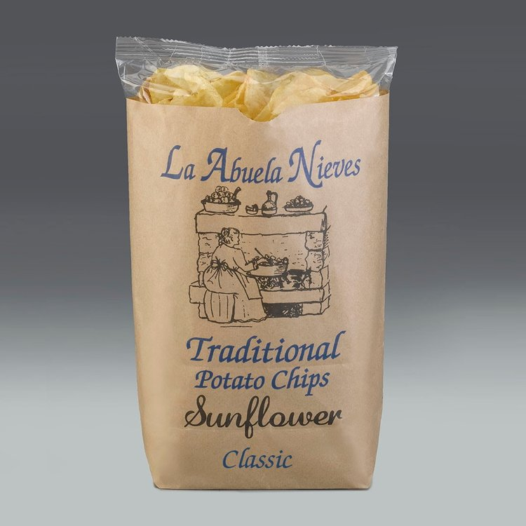 Traditional Salt Flavoured Potato Crisps with Sunflower Oil 150g