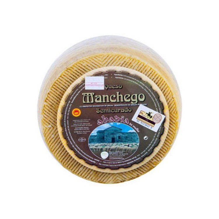 Aged Semi-Cured Spanish Manchego Cheese D.O.P 1kg