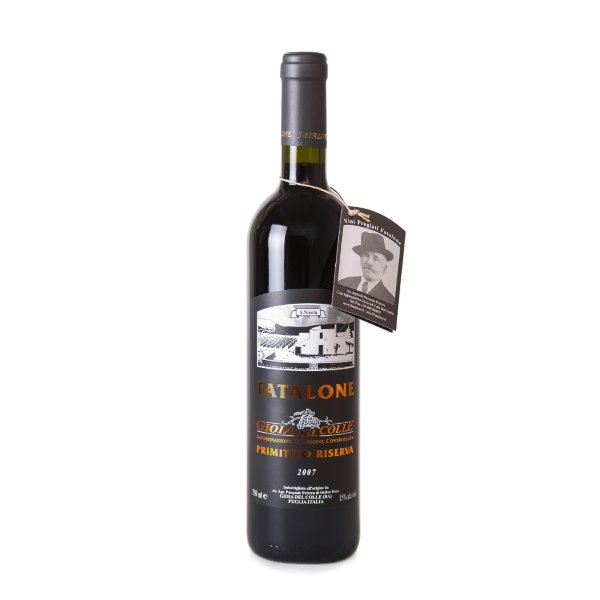 Organic Fatalone Riserva Primitivo Red Wine 2007 750ml