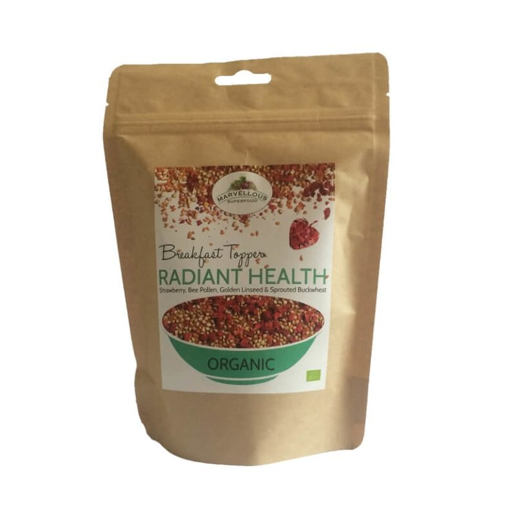 Organic Radiant Health Breakfast Topping Mix 250g