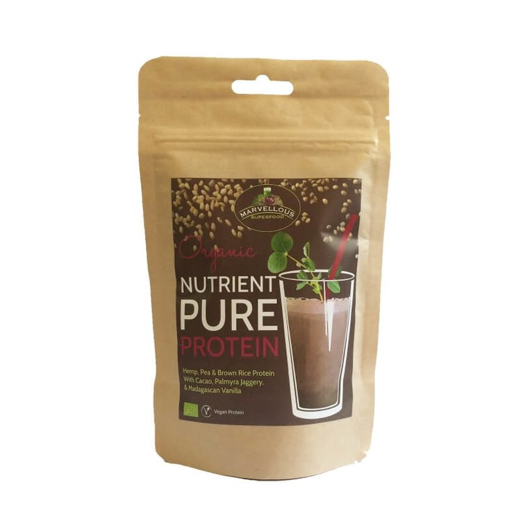 Nutrient pure protein