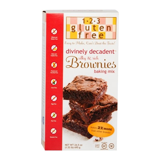 Gluten-Free Chocolate Brownie Mix 695g
