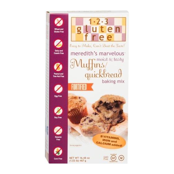 Gluten-Free Muffins/Quickbread Mix 467g