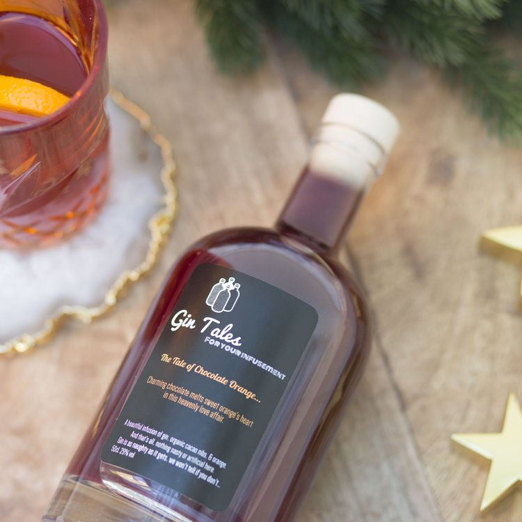 Chocolate & Orange Gin 50cl 29% ABV
