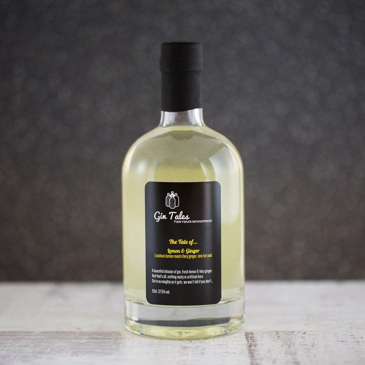 Lemon & Ginger Gin 50cl 29% ABV