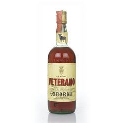 Veterano Spanish Brandy 1970s 75cl 40% ABV by Osborne