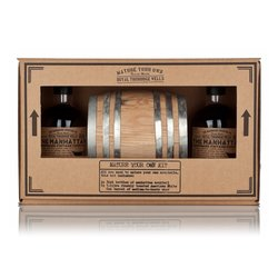 Mature Your Own Manhattan Cocktail Gift Kit