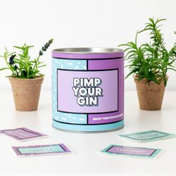 Grow Your Own Gin Garnish 'Pimp Your Gin' Gift Kit