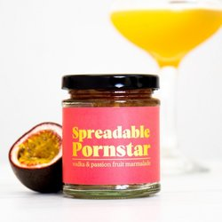 Spreadable 'Pornstar Martini' Cocktail Marmalade with Passion Fruit & Vodka 225g