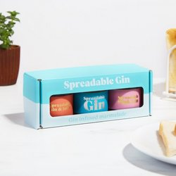 Gin Marmalade Gift Box Inc. Pink Gin, Orange Gin and Gin & Tonic Marmalades