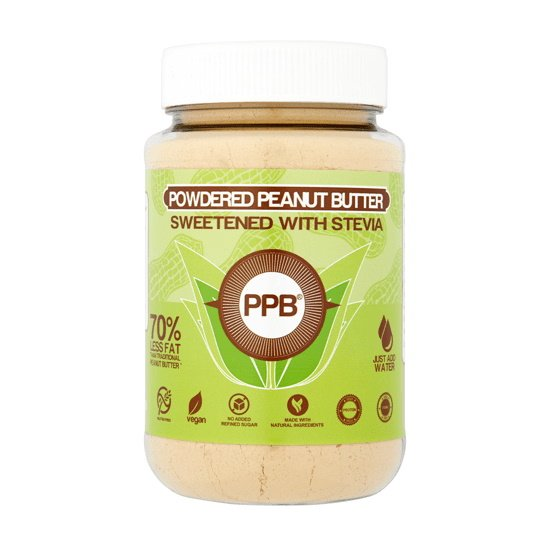 PPB Powdered Peanut Butter Sweetened with Stevia 180g