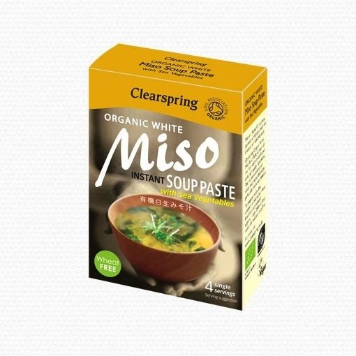 Organic Instant White Miso Soup Paste 4 x 15g
