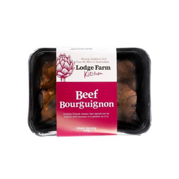 Herefordshire Beef Bourguignon 350g