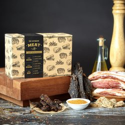 Ultimate Meat Kit (Makes 8 Meat Types Inc. Cured Bacon, Jerky, Biltong & Kebab)