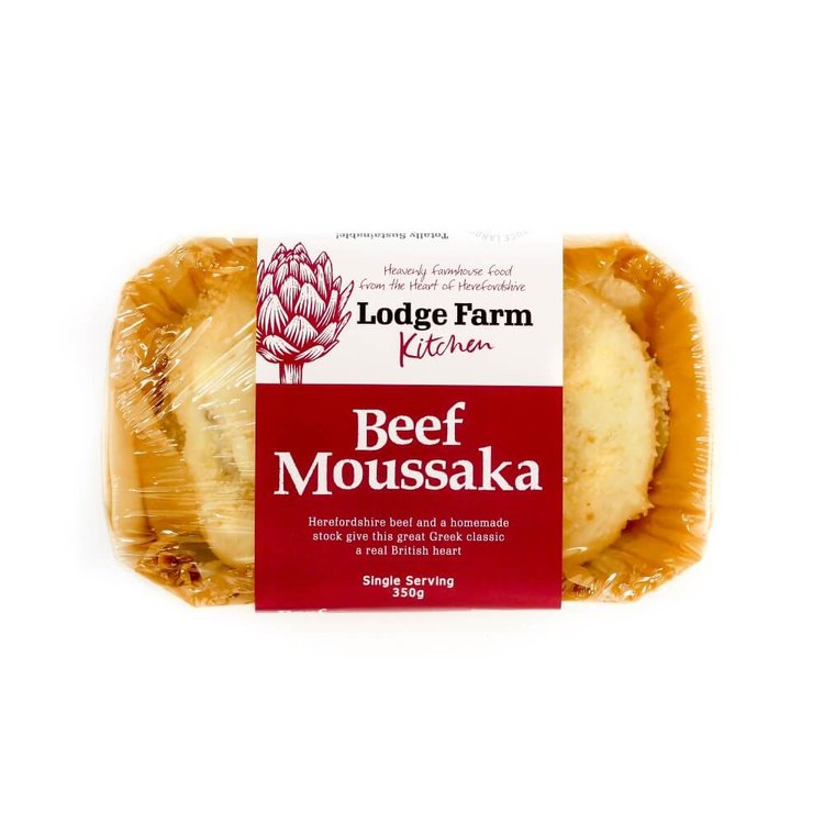 Beef Moussaka Single Serving 350g