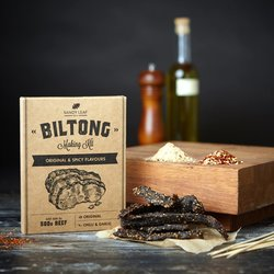 Beef Biltong Making Kit Inc. Seasonings & Cider Vinegar