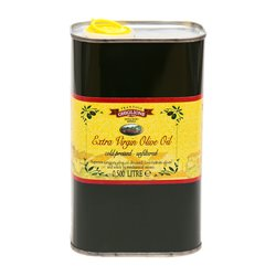 Organic Ligurian Extra Virgin Olive Oil Tin 3 Litre