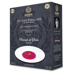 'Peccati di Viola' Purple Sins Risotto with Beetroot, Raspberry & Wasabi Luxury Italian Meal Kit by Christian Milone (Serves 4)