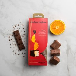 Chocolate Covered Orange Marshmallows 85g