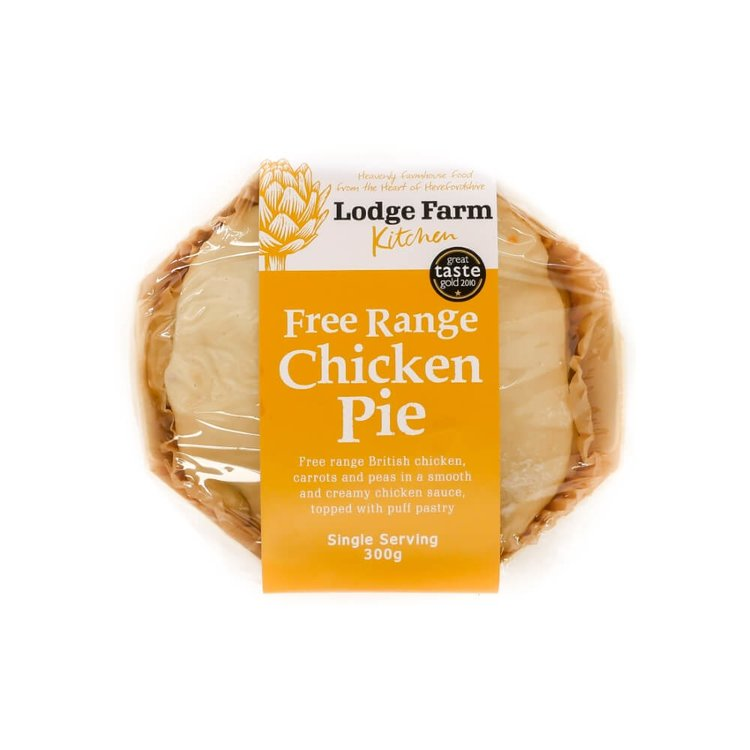 Free-Range Chicken Pie Single Serving 300g