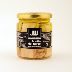 White Tuna Loin Bonito del Norte Fillets in Extra Virgin Olive Oil 150g