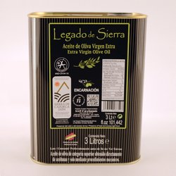Spanish Picual Extra Virgin Olive Oil Tin D.O.P 3 Litres