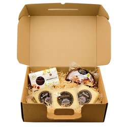 Spanish Cheese Board Gift Hamper With Manchego, Date Cake & Quince