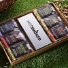 Smoking Wood Chip Selection Gift Box With Oak, Maple & Apple Wood Chips (For BBQ or Smoker)
