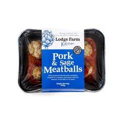Gluten-Free Pork & Sage Meatballs Single Serving 350g