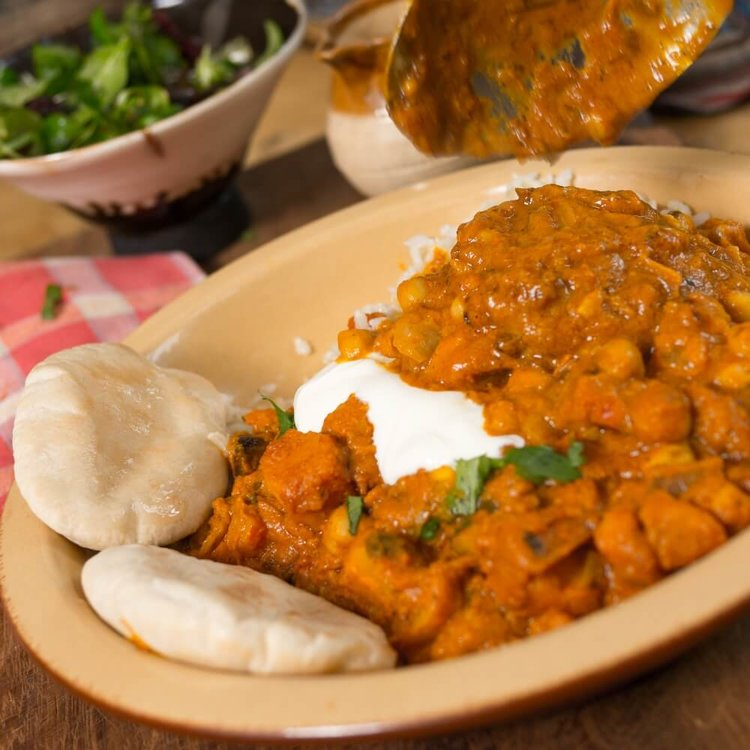 Squash Curry with Coconut & Coriander Single Serving 350g