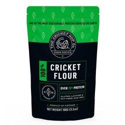Cricket Protein Flour 100g (Acheta Domesticus, Gluten Free Powder)