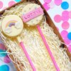 Rainbow Cloud 'Cakesicle' Personalised Cake Pop Gift Box